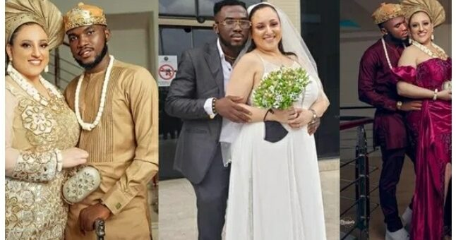 Nigeria Man Breaks The Internet After He Shares Photos Of His Wedding With American Sweetheart