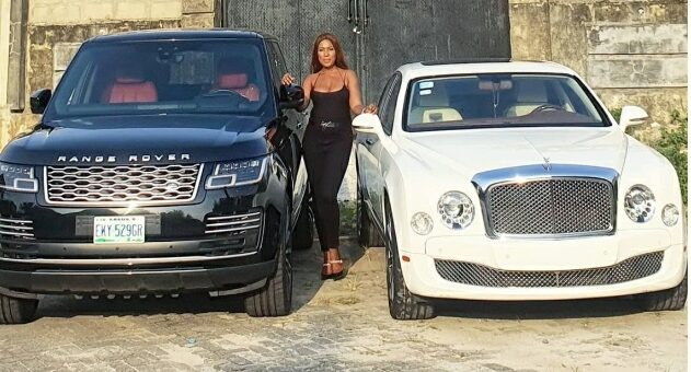 Linda Ikeji Flaunts Her Two Most Expensive Cars As She Shares Powerful Prayer