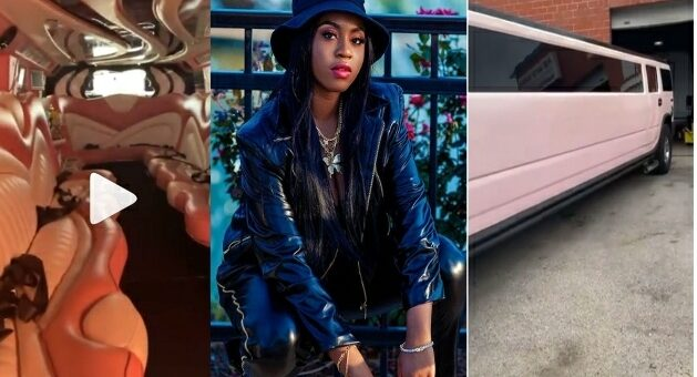 Celebrity Stylist Toyin Lawani Surprise Her 16-year-old Daughter With Multi-million Limousine [VIDEO]