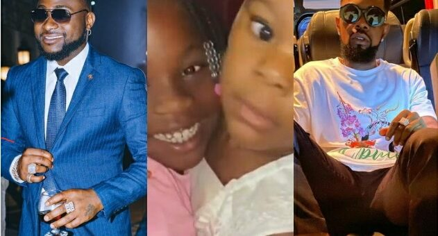 You And Me – Davido Reacts To Video Of Image And Patoranking'd Daughter Wilmer Looking Cute (Video)