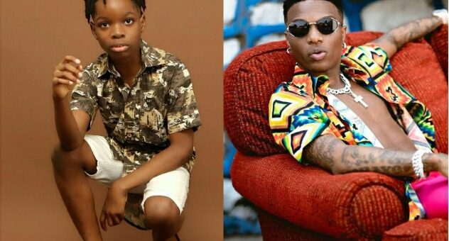 Excitement Is An Understatement – Wizkid's Son Boluwatife Says As He Shares Throwback Photos With Him