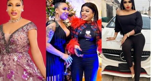 'Tonto Dikeh Borrows Cars'- Oye Kyme Reveals What Bobrisky Told Her