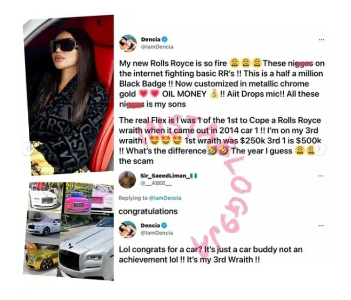 'Every Car You See Was Bought On Credit'- Gifty Powers Exposes Celebrities Who Flaunt Their Luxurious Whips Online