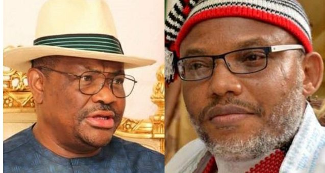 """The Governor of Rivers State, Nyesom Wike has dared the proscribed Indigenous Peoples of Biafra (IPOB) that he is not afraid of death so their activities are not welcomed in the state. Following the sit at home order given by the IPOB to people of the South East, Wike has declared that his people are in the South South and therefore do not follow the instructions of IPOB. He spoke on Channels Television programme 'Politics Today' as he disclosed that he is not afraid of the intimidations of the IPOB. In his words: """"I have said it, whether people like it or not, whether people want to kill me. I know that yes, people must die one day but you must have to speak out and say this is not acceptable"""". """"With all due respect, I have said it before and I will continue to say it, IPOB cannot make an order to say that people should sit at home in Rivers. I have said that clearly before because it does not exist in Rivers state. Rivers state is South-South. We are in Niger Delta"""". """"I am not saying whether the people of South-East should not obey what IPOB has said or not but they cannot give orders to Rivers people that we should sit at home. No! It is not possible. ADVERTISEMENT """"Like I always say, I am not against IPOB's activities in the South-East because they have a right to whatever they are doing with their people"""". """"But as far as Rivers state is concerned, we are not part of it. So, you cannot give an order when we are not part of whatever you are doing? How does it work? It doesn't work that way. """"It is like saying there are South Easterners who are staying in Lagos, therefore IPOB will give a sit at home order in Lagos that everybody should move. There are Igbo people staying in Kano, IPOB will go and make a sit at home order that nobody should move in Kano. It is not acceptable. So, IPOB for me. """"Our people are not part of it and so you cannot give order to people who are not part of what you are doing. When they gave that order, did anybody obeyed it in Rivers state"""