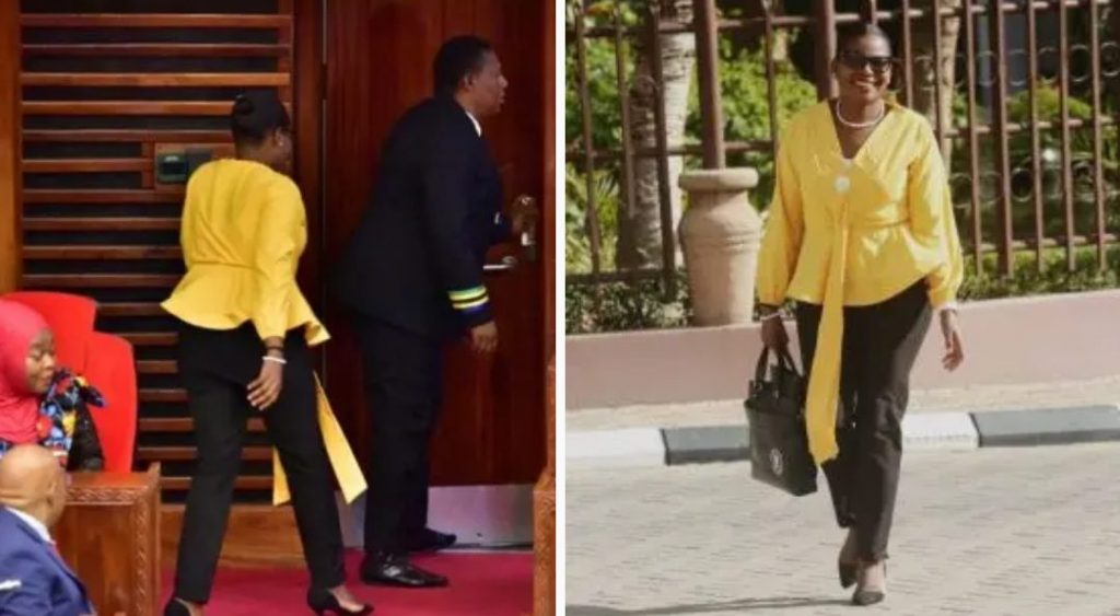 Tanzania female MP thrown out from parliament for wearing tight trousers