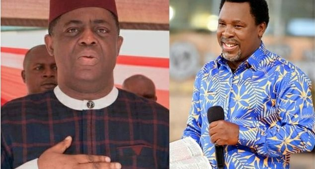 'I Am In Pain' – FFK Mourns As Pastor TB Joshua Dies