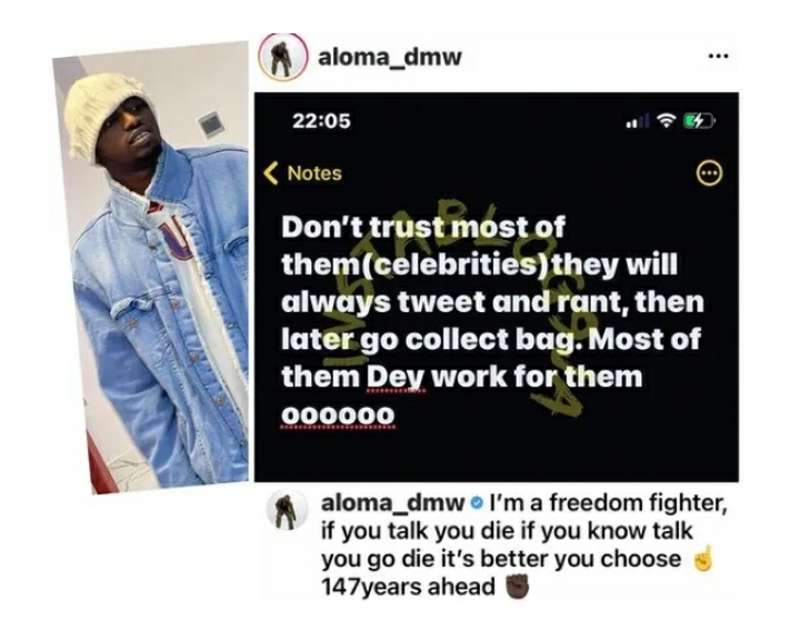 Why You Shouldn't Trust Nigerian Celebrities — Singer Davido's Former PA, Aloma