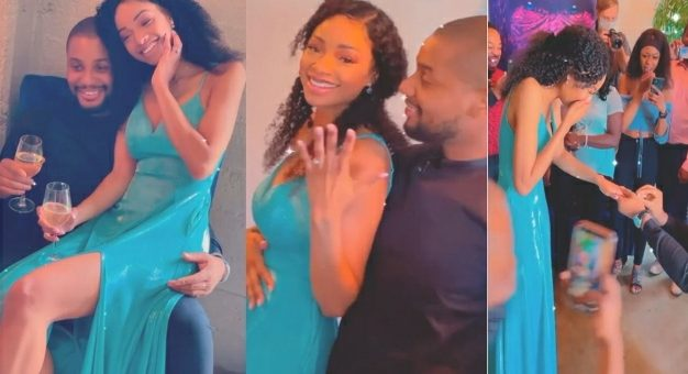 No $3x Till After Marriage – Alex Ekubo Makes It Clear To His Fiancee Fancy