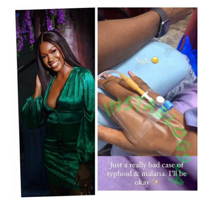 BBNaija Star, Vee, Hospitalized After Being Hit By Malaria And Typhoid