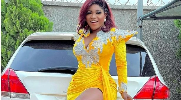 Destiny Etiko Flashes Her Smooth Thighs In New Photos, See Reactions