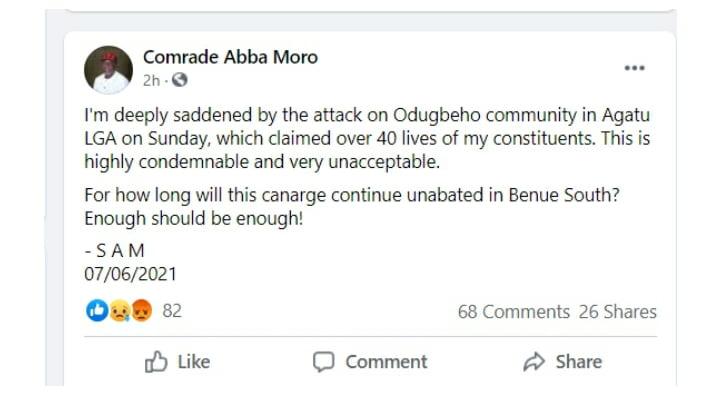 Suspected Fulani Herdsmen Attack Benue Community, Kill Over 40 Residents