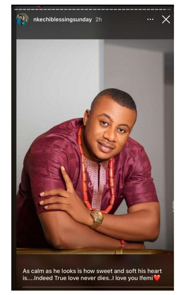 """""""Thank You For Loving This Stubborn Girl Unconditionally"""" –Nkechi Blessing Celebrates Husband On His Birthday"""