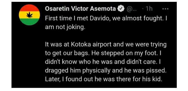 """""""First Time I Met Davido, We Almost Fought""""– IT Expert, Victor Asemota Recounts"""