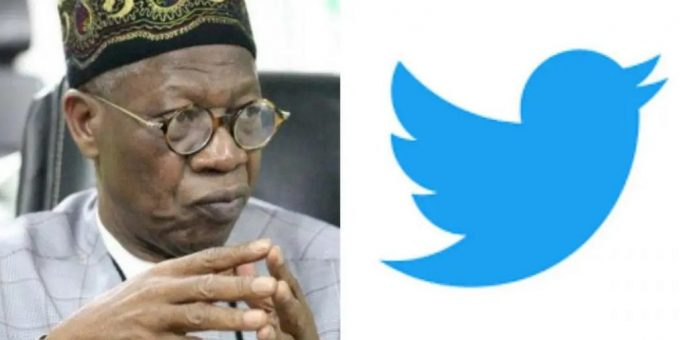 Twitter suspension: Lai Mohammed to lead FG's negotiation team