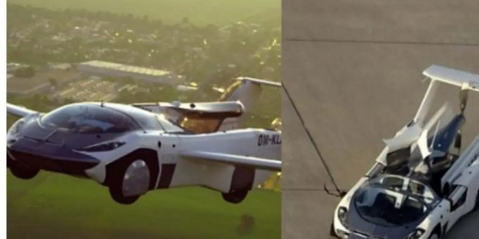 Flying car completes first-ever test flight between two cities watch video