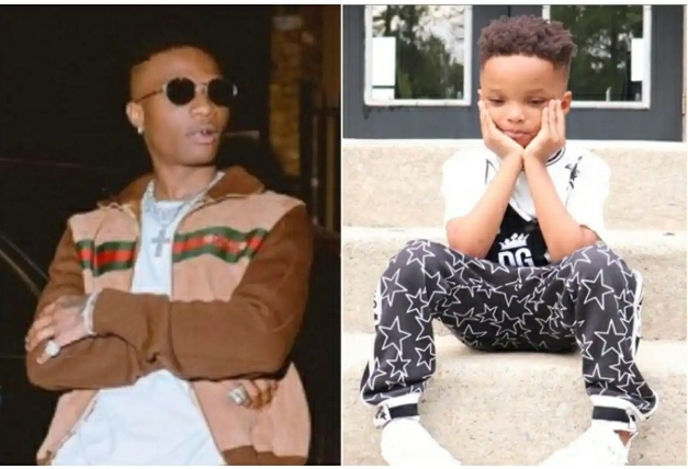 Do You Want My Son To Bleach? – Wizkid's 2nd Babymama Asks Those Saying His Skin Is Becoming Dark