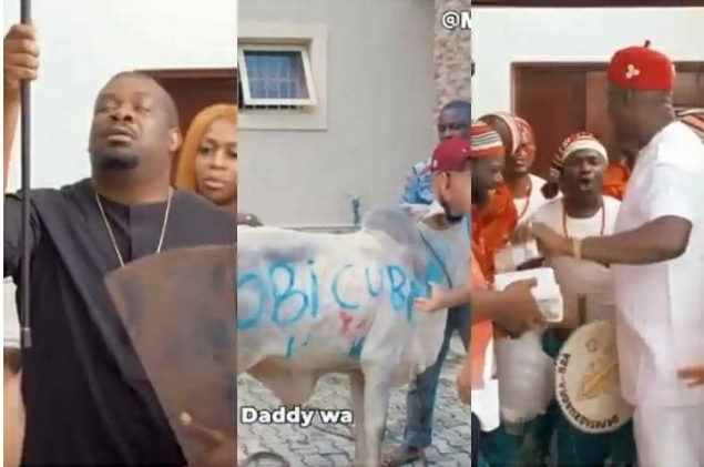 How Don Jazzy And His billionaire Friends That Couldn't Make It To Oba Had Their Own Private Caucus
