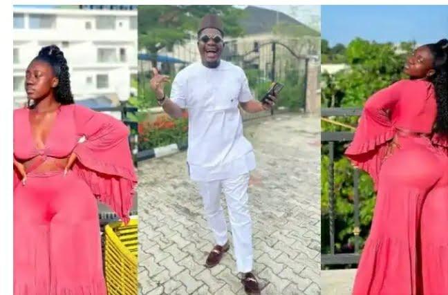 Mr Macaroni Falls In Love With The Huge Backside Of Hajia Bintu – Says Its Fantabulous