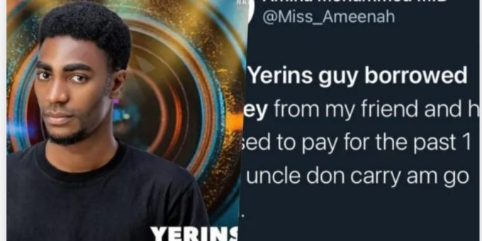 BBNaija Season 6: Yerins Called Out For Refusing To Pay Back Loan