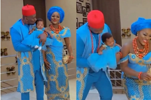 Chacha Eke Shares Lovely Video As She Dedicates Her Daughter Diamond