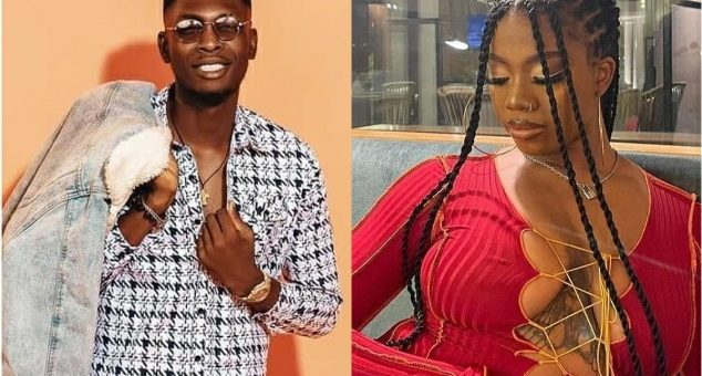 BBNaija 2021: Video; Sammie And Angel Seen Cuddling Each Other In Bed