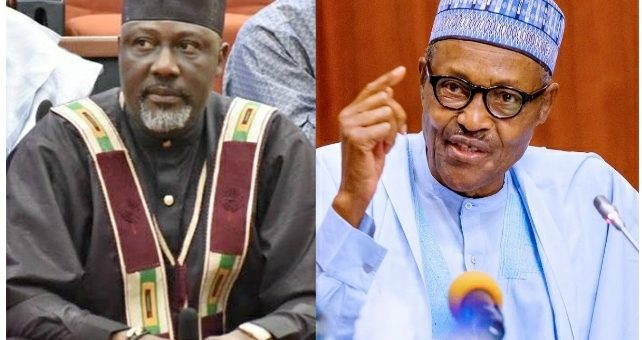 'Dino Is Mad' – Nigerians React As Dino Melaye Says It's A Shame Buhari Has No Certificate Yet Attends Global Education Summit