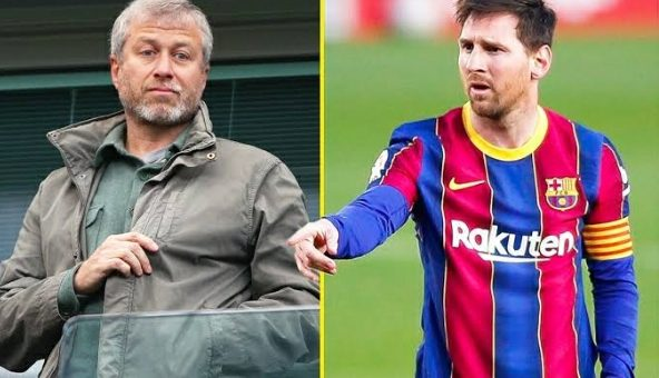 Chelsea owner, Roman Abramovich 'requests urgent meeting with Lionel Messi's reps over transfer'