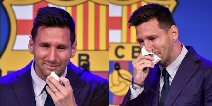 Messi gives his farewell message to Barca fans, says PSG is a possibility destination