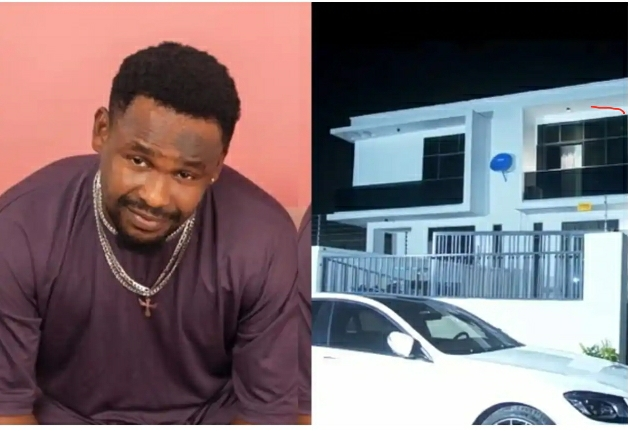 Zubby Michael Flaunts His New House And New Mercedes Maybach- Kanayo O Kanayo & Others Hail Him (VIDEO)