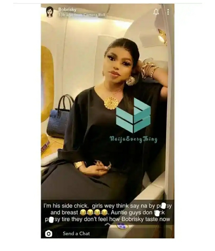 Guys Now Want To Feel How Bobrisky Tastes – Bobrisky Claims As He Shades Ladies