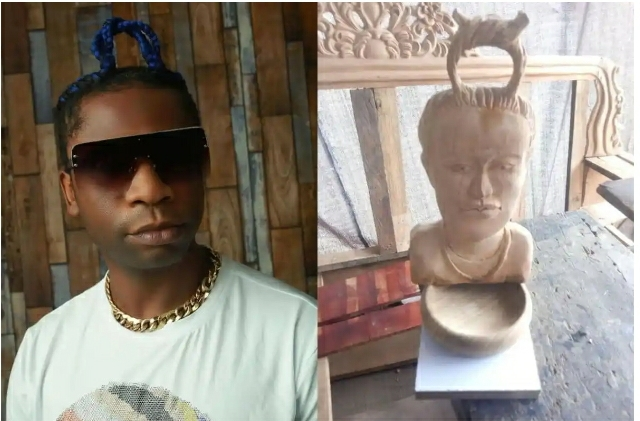 Speed Darlington Rants After A Sculptor Made A Mess Of His Face