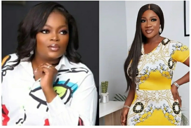 You Make Me Want To Be A Better Mom – Funke Akindele Makes Mercy Johnson Teary As She Eulogizes Her
