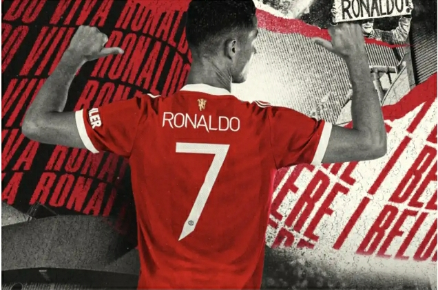 CONFIRMED: Cristiano Ronaldo To Wear No.7 After Completing Man Utd Move