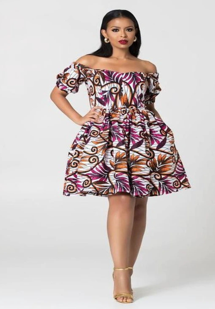 Gorgeous Ankara Gowns You Can Wear On Dates