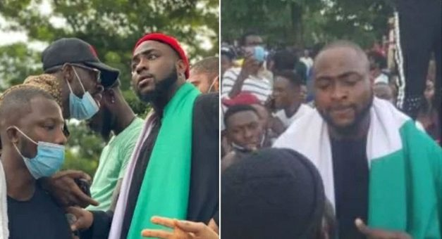 """""""I Got Into Trouble For Supporting Endsars, I Had To Leave Nigeria"""" – Davido Reveals"""