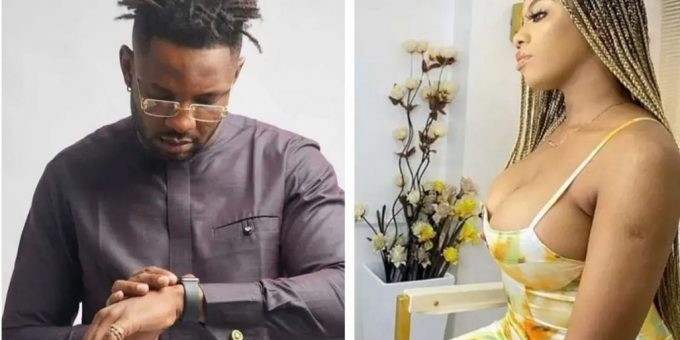 #BBNaija: Cross brutally confronts Angel for being a player