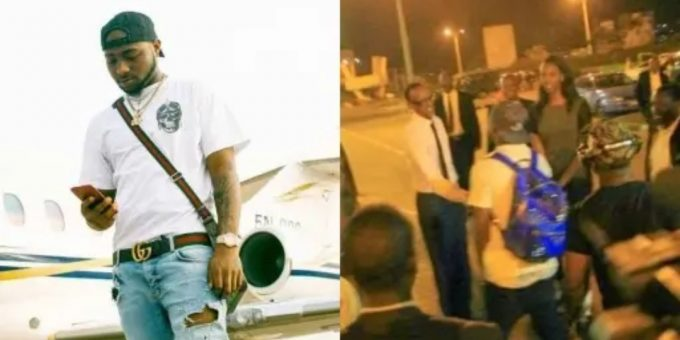 Davido talks about time he was picked up by Rwandan President at airport