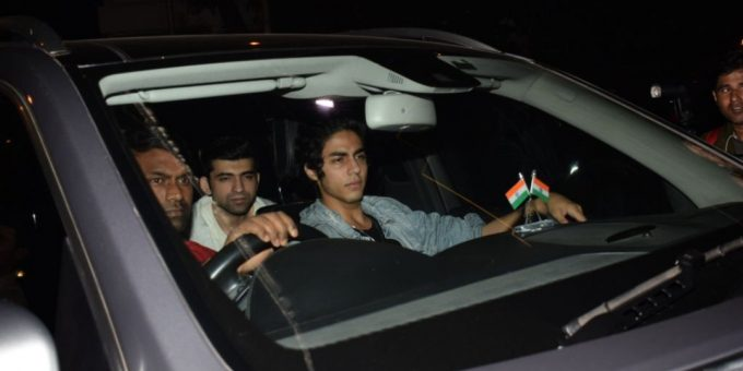 What is the name of Shah Rukh Khan's son? Aryan Khan has been detained in Mumbai.