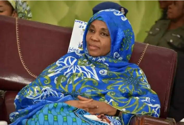 JUST IN: EFCC Arrests Ganduje's Wife, Drags Her To Abuja