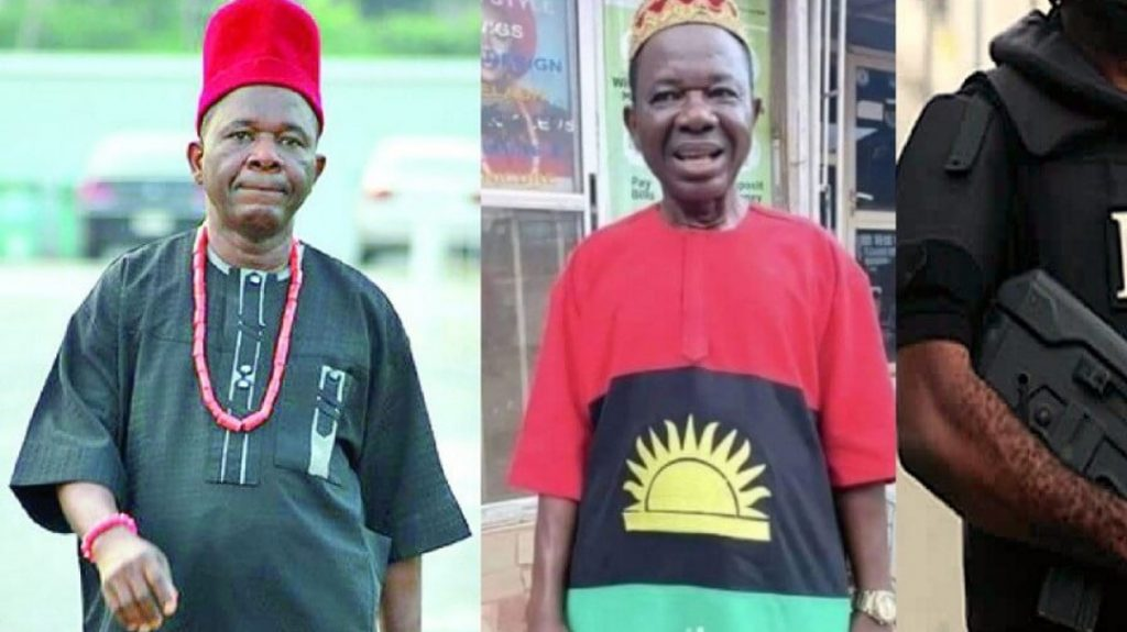 Chiwetalu Agu, a well-known actor, was detained for allegedly recruiting members of the Indigenous People of the Black Africa (IPOB)