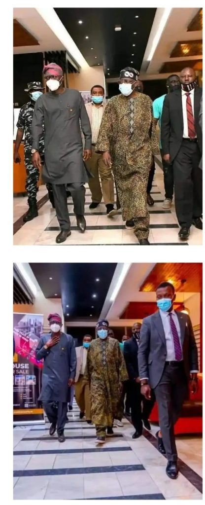 Tinubu Arrives In Nigeria From The UK (PHOTOS)