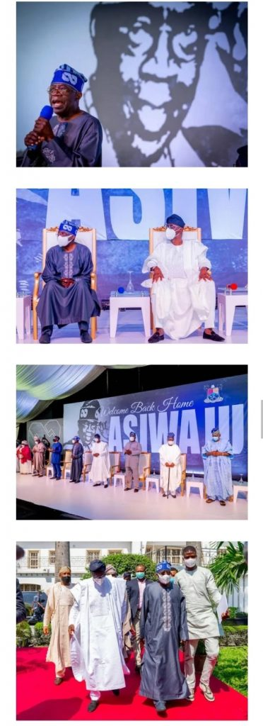 I Am Hale And Hearty, I Am Grateful And I Thank God – Tinubu Says As Lagos State Govt Throws Welcome-Back Party For Him (PHOTOS)