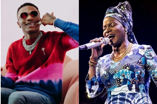 Wizkid Beats Angelique Kidjo's 29 Years Old Record On Billboard Chart