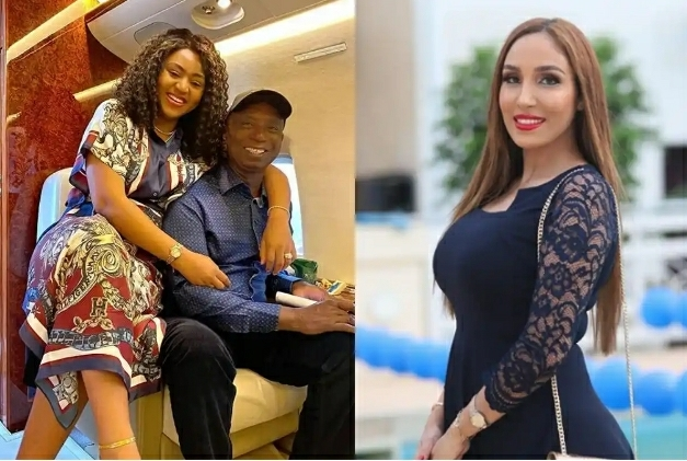 Laila Charani Unfollows Her Husband Ned Nwoko After Unfollowing Her Co-wife Regina Daniels