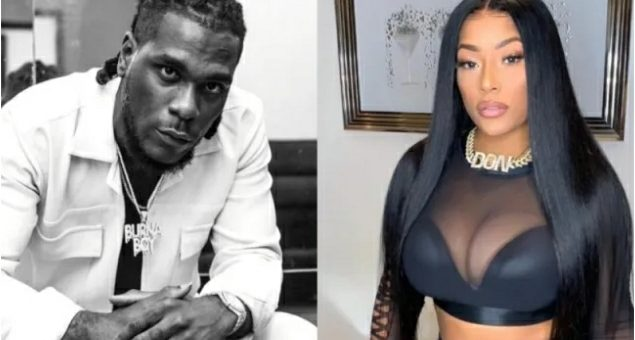 'Stefflon Don In The Mud'- Reactions As Singer Burna Boy Allegedly Expecting A Baby