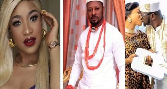 Actress, Tonto Dikeh Reportedly Had Her Ex-Fiancee, Prince Kpokpogri Arrested